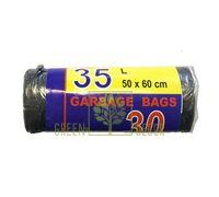 Мусорные пакеты 35 л, 30 шт