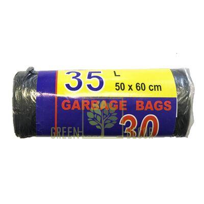 Пакеты для мусора 35 л, 30 шт