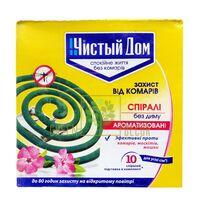 Спирали от комаров ароматизированные, 10 шт