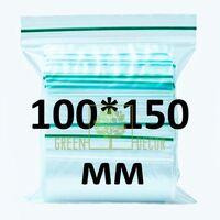 Zip-lock пакет 100*150 мм, 100 шт