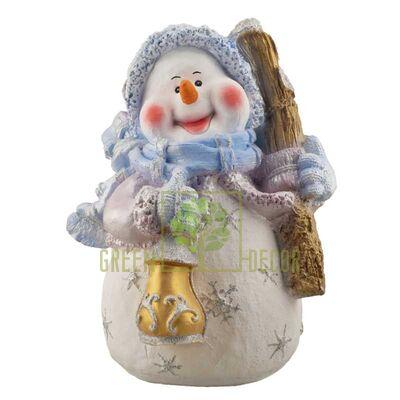Новогодняя фигурка Снеговик Бажаю Щастя