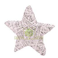 Декор Новогодняя звезда 20 см
