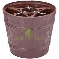 Стійка-тримач для ялинки Дерево-Планета-2 17 л коричнева