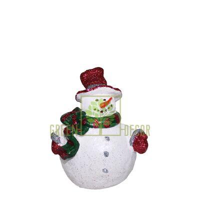 Новогодняя фигурка Снеговичек mini-2