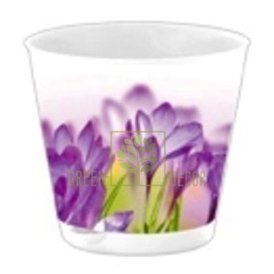 Горшок для цветов КРИТ 0,7 л с системой прикорневого полива по СУПЕР цене!