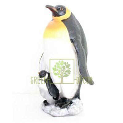 Новогодняя фигурка Пингвин Королевский с малышом - оригинальный подарок на Новый Год 2016