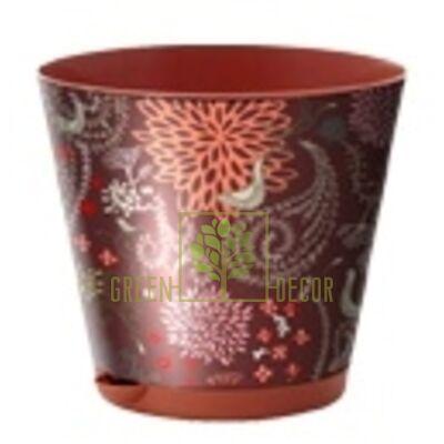Горшок для цветов КРИТ 1,8 л с системой прикорневого полива по СУПЕР цене!