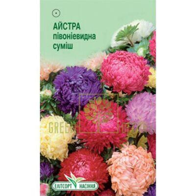 Семена Астра Пионовидная смесь 0,1 г, Элитсорт