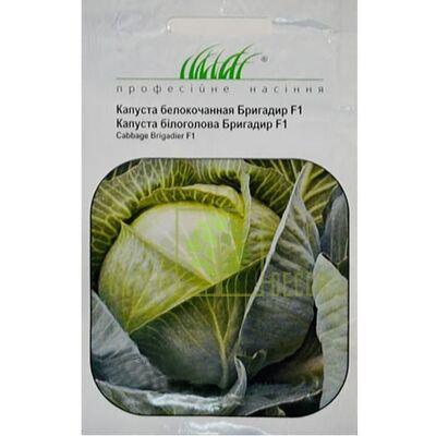 Семена Капуста белокачанная Бригадир F1 20шт, Професійне насіння