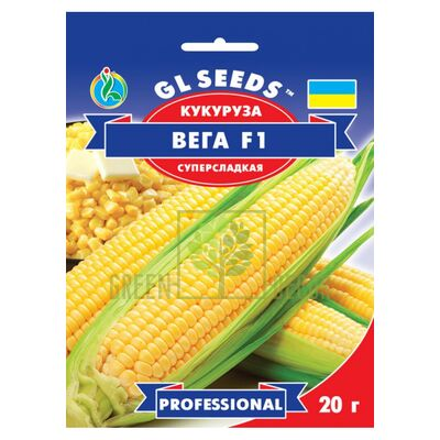 Семена Кукуруза Вега F1 20г Professional 20г, GL Seeds