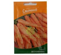 Морковь Витаминная 2г, Смачний
