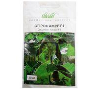 Огурец Амур F1 самоопыляемый темно-зеленый 10 шт, Професійне насіння