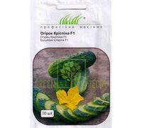 Огурец Криспина F1 самоопыляемый темно-зеленый 10 шт, Професійне насіння