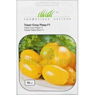 Семена Томат Еллоу Ривер F1 кустовой желтый 10 шт, Професійне насіння